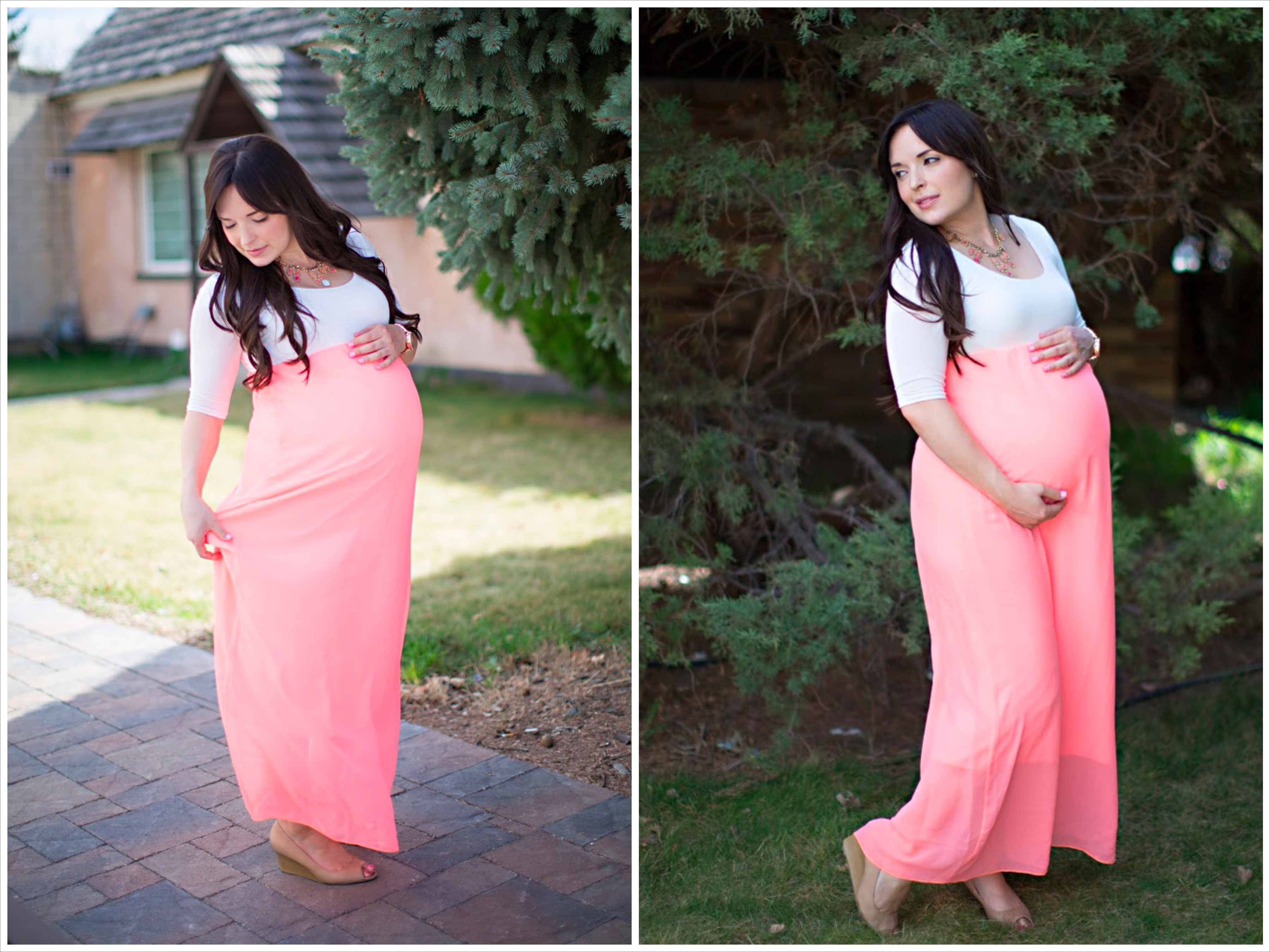dresses to wear to your baby shower