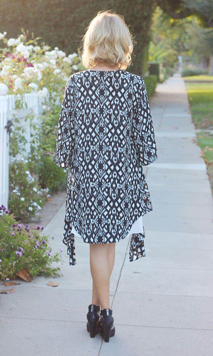 black-and-white-kimono
