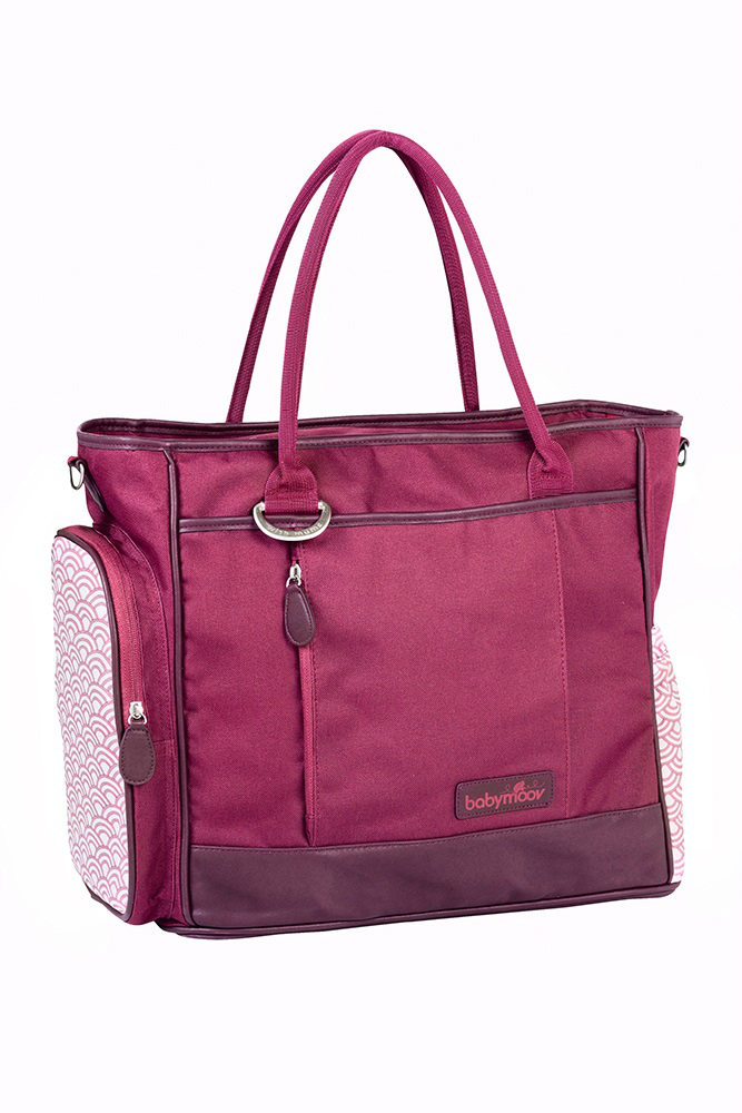 fuchsia baby bag
